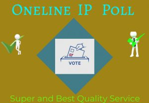 Provide you to get 250 genuine IP votes poll by real people for $5