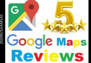 Get 20 Google Maps Review ( 5* ) Rank For Website Your Business Services