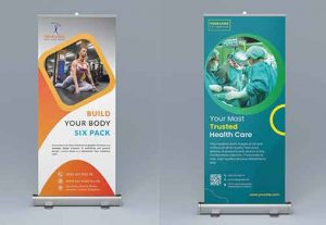 I will design corporate Rollup Banner Design for you