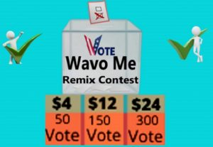 Give you 50 wavo votes for your WAVO. ME Contest for $4