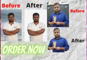 I will provide HD quality photoshop background remove service