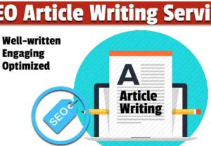 I will write SEO unique website content, blog, and article writing services