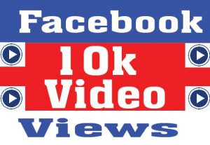 I will deliver 10000 Facebook Video Views promotion