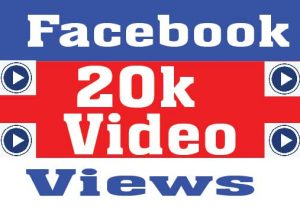 I will deliver 20000 Facebook Video Views promotion
