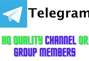 Telegram group and channels members HQ GUARANTEED