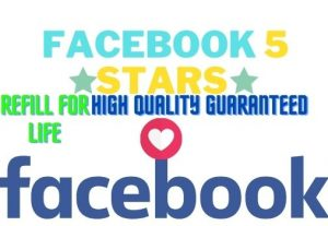 Facebook  5 STARS RATING REFILL FOR LIFE