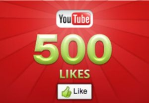 500+ YOUTUBE LIKES NON DROP AND REAL ORGANIC WITH LIFE TIME GUARANTEED