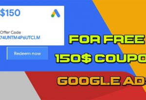 I will give a 150 dollar google ads advertising coupon for you to advertise you link for only $ 4