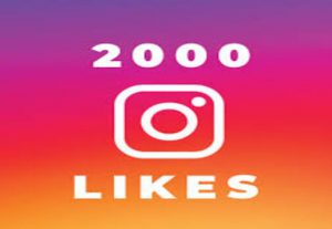 2000 INSTAGRAM PHOTO VIDEO LIKES NON DROP AND HIGH QUALITY WITH INSTANT START