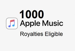 1,000 Apple Music Streams From Premium Accounts