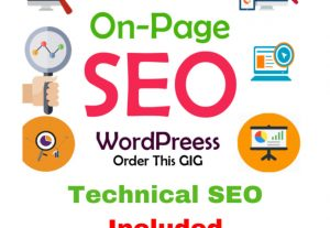 I will do full WordPress website on-page SEO with rank math plugin