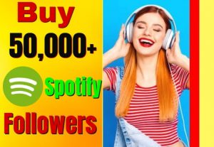 I Will Send You 2000 Spotify Followers.