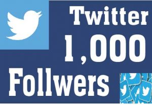 Real & High Quality 1000+ Twitter Followers Non-Drop