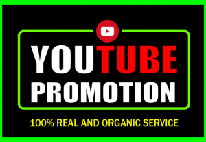 YouTube Video Promotion All Packages available with guarantee