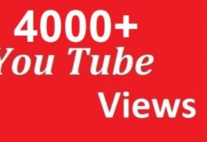 GET 4000YT instant views in 6$