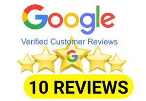 I will Provide You 10 Permanent google review for your business