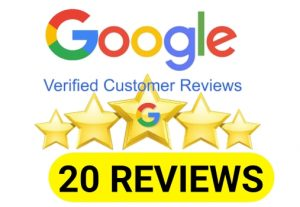 I will Provide You 20 Permanent google review for your business