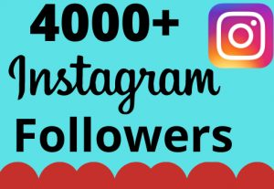 I will add 4000+ real and organic Instagram followers for your business