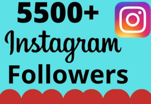 I will add 5500+ real and organic Instagram followers for your business