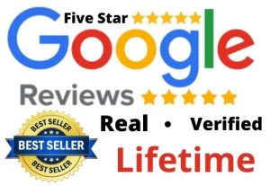 I will provide you 10 high quality lifetime google review