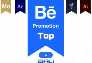 Get +500 Behance Likes, views, Appreciation. Promotion Top