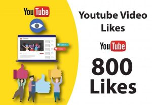 800+ YOUTUBE LIKES NON DROP AND REAL ORGANIC WITH LIFE TIME GUARANTEED