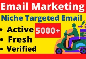 You will get 5000+ Bulk Mail for your industry