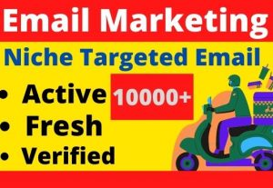 I will provide you 10000+ Fresh And Active Bulk Mail List