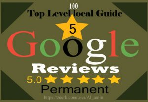 I will provide 100 permanent 5-star Google reviews for your website