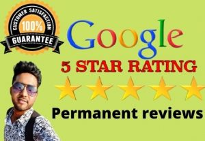 You will get 30 permanent and high-quality reviews.