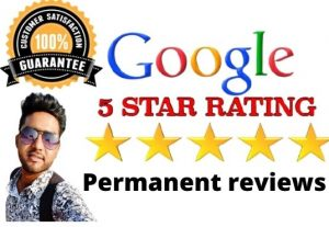 You will get 10 permanent google review for $8
