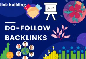 I will create pure do-follow backlinks