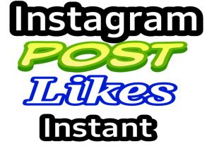 Get upto 1500 Instagram Post likes or 50k video views