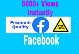 Add 5000+ Non Drop and Exclusive Id's Views on Your Facebook Video Post