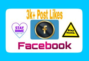 Premium Quality and Organic 3000+ Facebook Post Likes Add Your Facebook Post