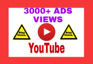 Add 3000+ Non Drop ADD VIEWS on Your YouTube Post