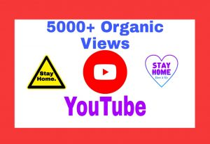 5000+ Organic and Non Drop Views Add Your YouTube Post