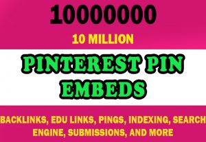 10 Million Pinterest Pin Embeds