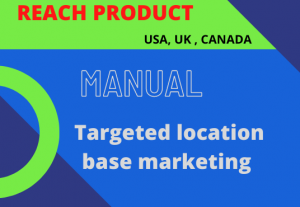 I will do USA, UK, CANADA in reach product of audience