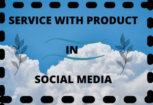I will promote your service with product in social media