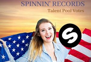 Improve  Your Track In Top Spinnin Records Talent Pool Like 150 votes for $4