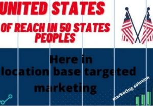 I will promote business united states 50 states in reach of peoples