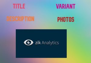 I will product research using Zik Analytics to get fresh ideas for your new product