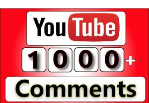 Get 1000+ Youtube Custom Comment On Your Video, High Quality Service For 25$