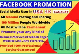 I will do promote your business in facebook group post
