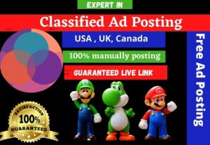 I will do classified ad posting in USA classified sites