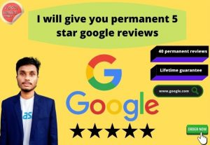 I will give you 5 verified google review for your website