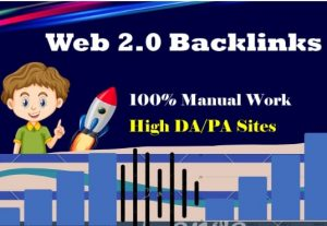 I will make high authority backlinks