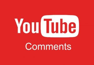 100 custom youtube comments for 3$