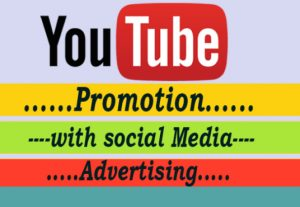 I will do youtube promotion with social media advertise increase audience